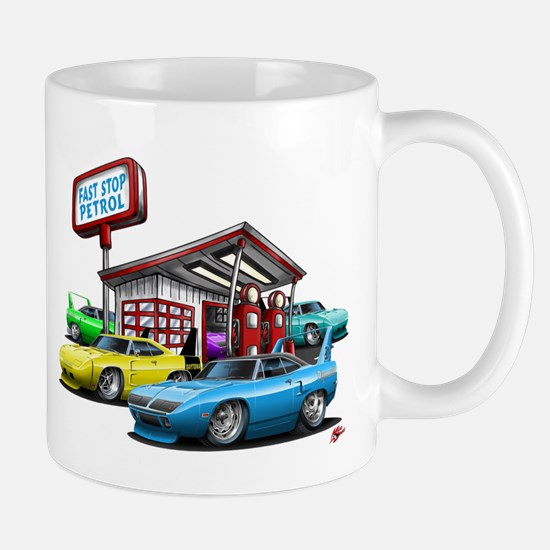 Superbird Gas station scene Mug