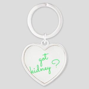 Got Kidney? Heart Keychain