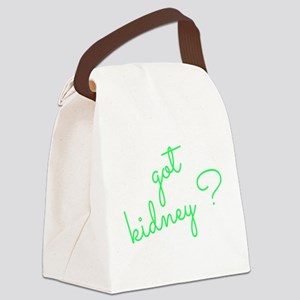 Got Kidney? Canvas Lunch Bag