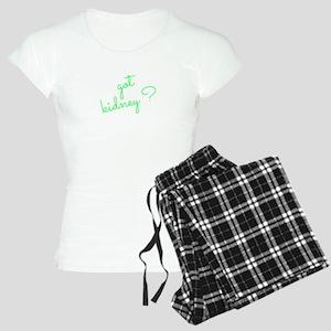 Got Kidney? Women's Light Pajamas