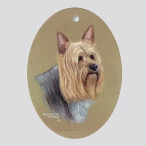 Silky Terrier Oval Ornament