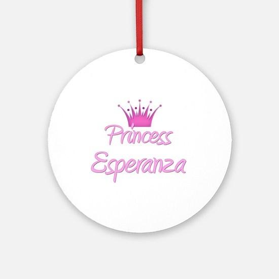 Princess Esperanza Ornament (Round)