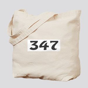 347 Area Code Tote Bag