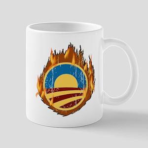 Obama Flames Mug