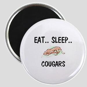 Eat ... Sleep ... COUGARS Magnet