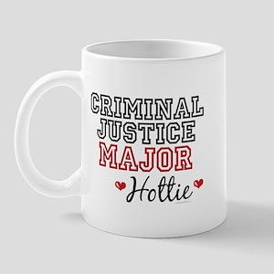Criminal Justice Major Hottie Mug