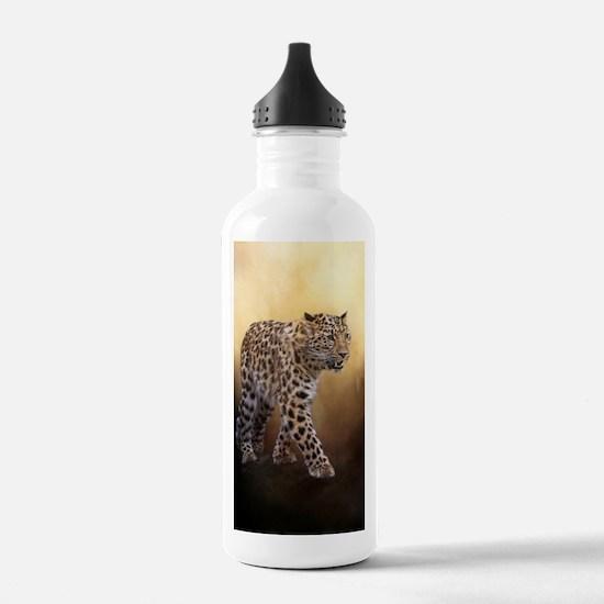 Amur Leopard Water Bottle