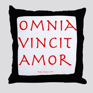 CANE Omnia Vincit Amor Throw Pillow