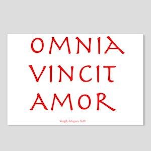 CANE Omnia Vincit Amor Postcards (Package of 8)