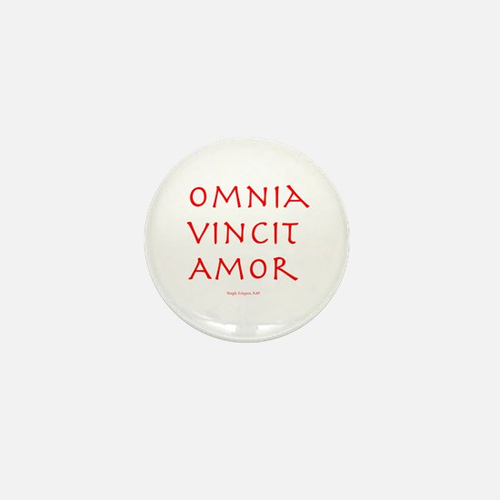 CANE Omnia Vincit Amor Mini Button