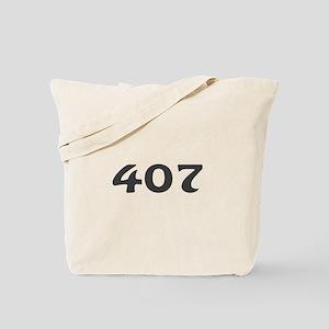 407 Area Code Tote Bag