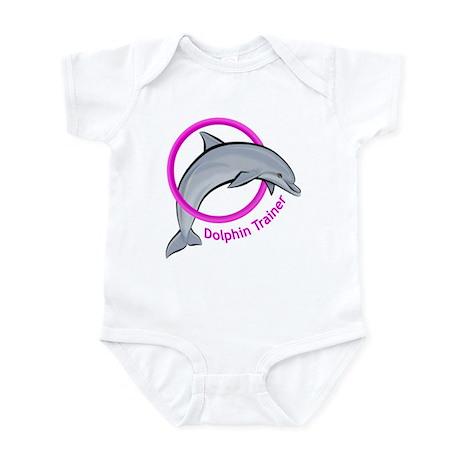 Dolphin Trainer Pink Infant Bodysuit