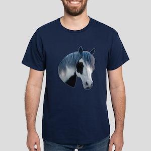 Paint Horse Portrait Dark T-Shirt