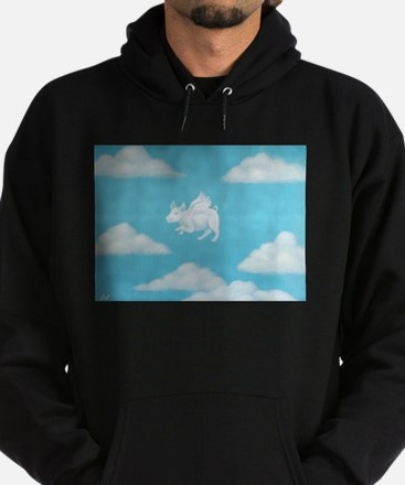 """Pigs are Flying!"" Hoodie (dark)"