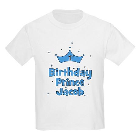 1st Birthday Prince Jacob! Kids Light T-Shirt