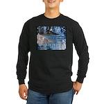 Waikiki Hawaii Long Sleeve Dark T-Shirt