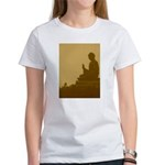 brown buddha Women's T-Shirt
