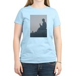 grey buddah Women's Light T-Shirt