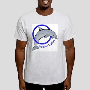 Dolphin Trainer Blue Light T-Shirt