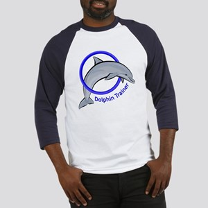Dolphin Trainer Blue Baseball Jersey