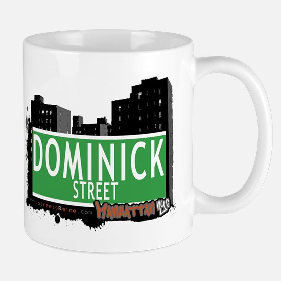DOMINICK STREET, MANHATTAN, NYC Mug