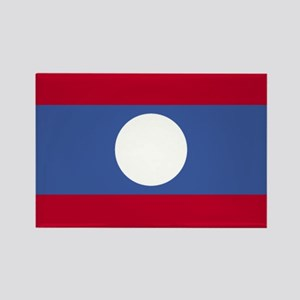 Laos Rectangle Magnet