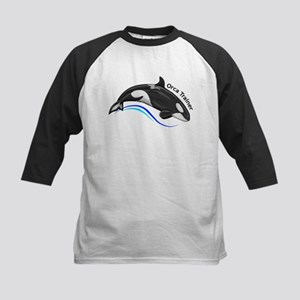 Orca Trainer Kids Baseball Jersey