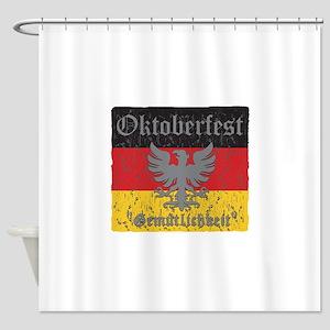 Oktoberfest Gemutlichkeit Shower Curtain