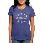 Shiny Womens Tri-Blend T T-Shirt