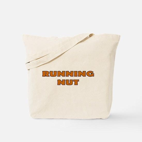 Running Nut Tote Bag