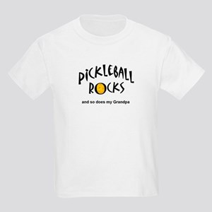 Pickleball Rocks and do does my Grandpa Youth T