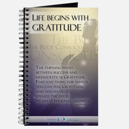Life Begins with Gratitude Journal