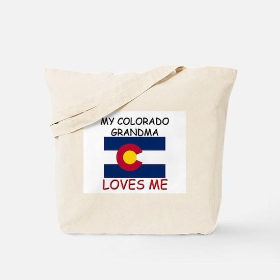 My Colorado Grandma Loves Me Tote Bag