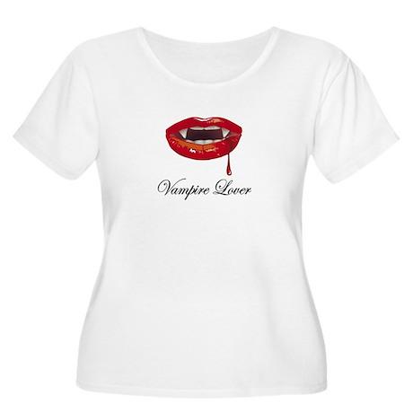 Vampire Lover Women's Plus Size Scoop Neck T-Shirt