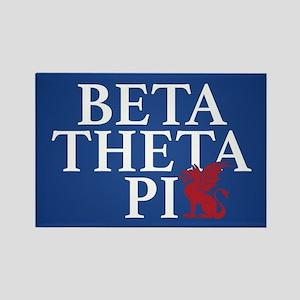 Beta Theta Pi Dragon Rectangle Magnet