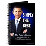 Obama Simply The Best Journal