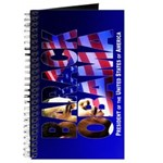 BARACK OBAMA! Journal (blue)