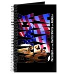 BARACK OBAMA! Journal (black)