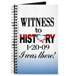 Witness to History Journal (white)