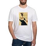 La Revue Blanche Fitted T-Shirt