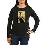La Revue Blanche Women's Long Sleeve Dark T-Shirt