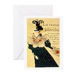 La Revue Blanche Greeting Cards (Pk of 10)