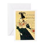 La Revue Blanche Greeting Card