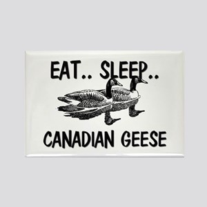 Eat ... Sleep ... CANADIAN GEESE Rectangle Magnet