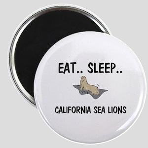 Eat ... Sleep ... CALIFORNIA SEA LIONS Magnet