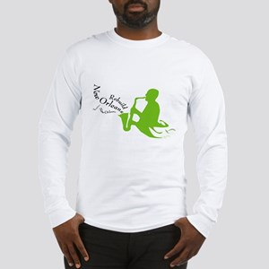 Jazzy Rebuild New Orleans Long Sleeve T-Shirt