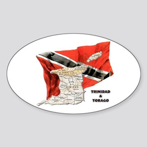 T&T Oval Sticker
