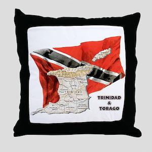 T&T Throw Pillow