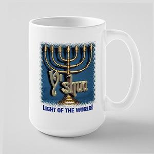 Y'shua, Light of the World! Large Mug