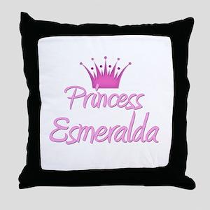 Princess Esmeralda Throw Pillow